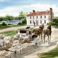 Arrival at Mt Vernon (S)